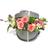 Sombrerera con Flores