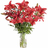 Ramo de Lilium rojo