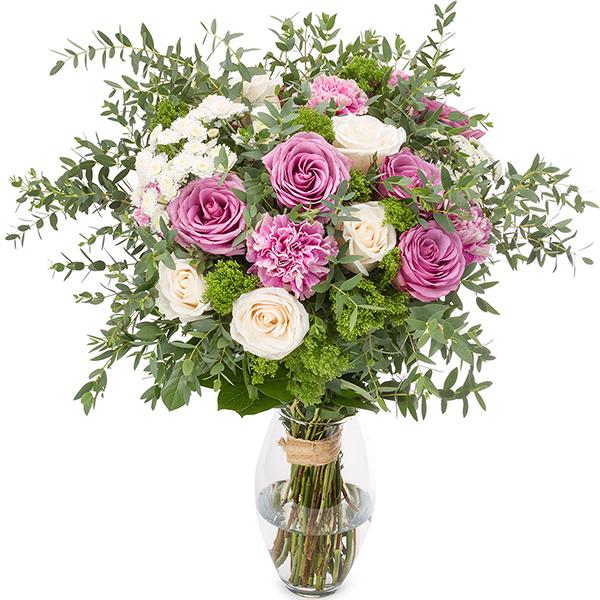 Ramo rosas hermosas enviar flores a domicilio - Ramos de flores hermosas ...