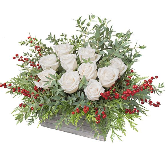 Enviar centro de navidad decoraci n navidad floresfrescas for Amazon decoracion navidad
