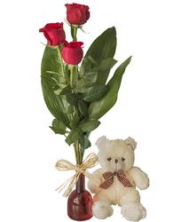 Trío de Rosas Perfecto
