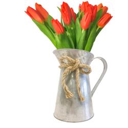 Tulipanes en Jarra