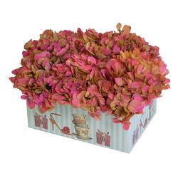 Caja con Hortensias Preservadas