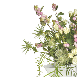 Jarra de Flores de Cumpleaños