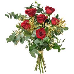 Flores Navideñas Rosas Rojas