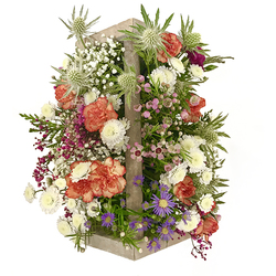 Casita con Flores