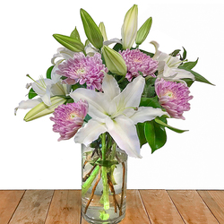 Jarron de Flores Allegra Rossano